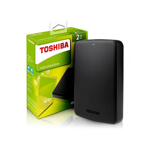 DISCO EXTERNO 2TB CANVIO  TOSHIBA
