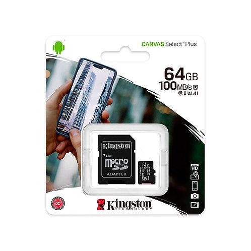 MICRO SD 64GB CLASE 10 KINGSTON