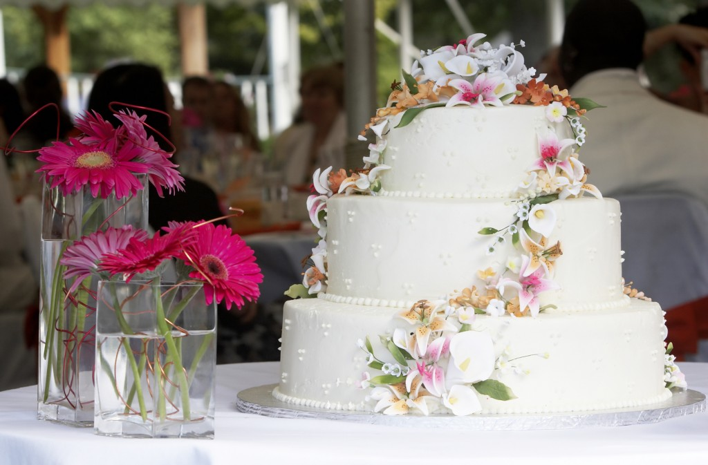 Wedding cake del forno