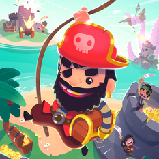 Jelly Button games // Pirate Kings