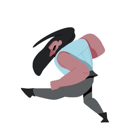 The Headbanger // Animation excercise in dance