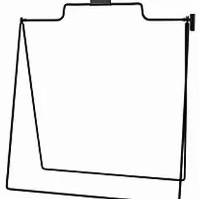 Metal A-Frame Sign Holder