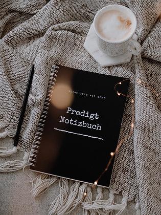 Predigtnotizbuch (dark-white)