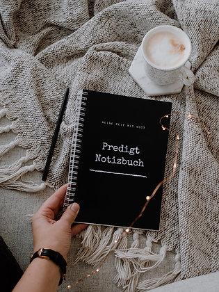 Predigtnotizbuch (black-white)