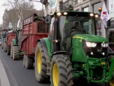 Demonstrationen in Frankreich