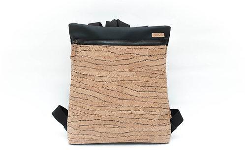 SKIIWI cork leather sustainable backpack