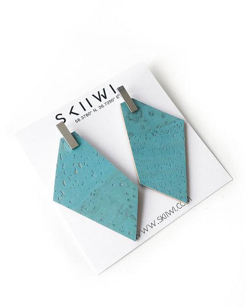 POLYGON Sky Blue Earrings