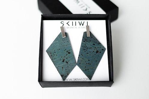 POLYGON Turquoise Earrings