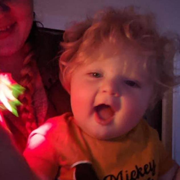 Loving our sensory lights!
