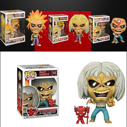 Collection Figurines de Collection Funko Pop Iron Maiden Eddie.