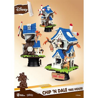 "Tic et Tac ""Chip & Dale"" D-Stage Diorama"