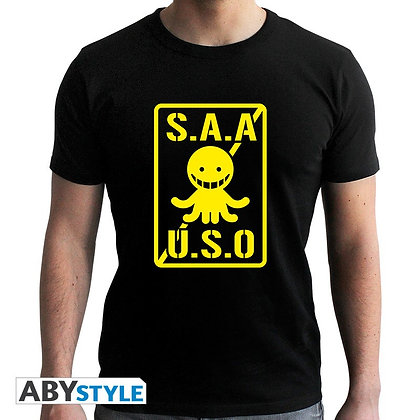 Assassination-classroom-tshirt-saauso-homme-mc-black