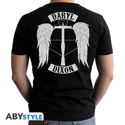 The-walking-dead-tshirt-daryl-homme-mc-black