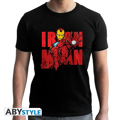 Marvel-tshirt-iron-man-graphic-homme