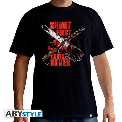 Ash-vs-evil-dead-tshirt-shoot-first-homme