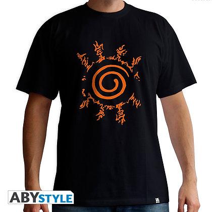 Naruto-shippuden-tshirt-sceau-homme-mc-black