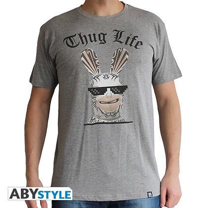 Lapins-cretins-tshirt-thug-life-homme-mc-sport