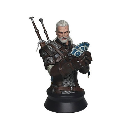 THE WITCHER 3 - Wild Hunt Buste Geralt ver. Gwent Ltd Ed !
