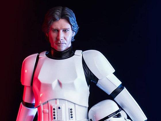 Star Wars Han Solo ( Stormtrooper disguise ) Iron Studios 1/10