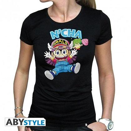 Dr-slump-tshirt-arale-gacchan-femme