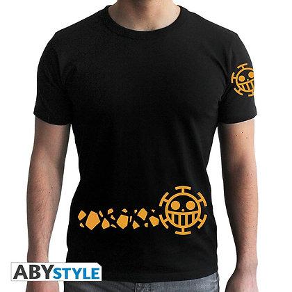 One-piece-tshirt-trafalgar-new-world-homme-mc-black