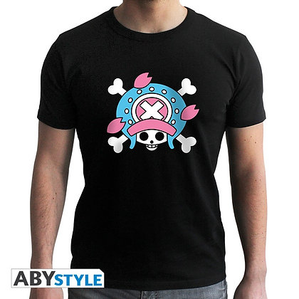 One-piece-tshirt-skull-chopper-homme-