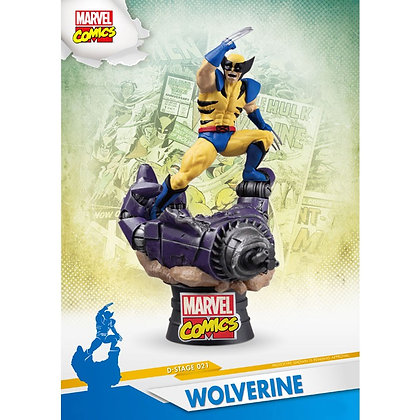 MARVEL - D-Stage Wolverine Comic 16cm