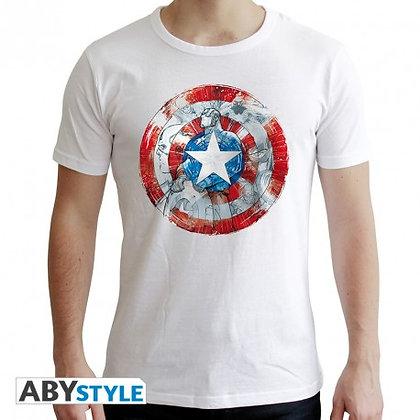 Marvel-tshirt-ca-classic-homme-mc-white