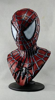 Buste 1/2 Spiderman Sculpté et peint par Wendel Martins 35 cm
