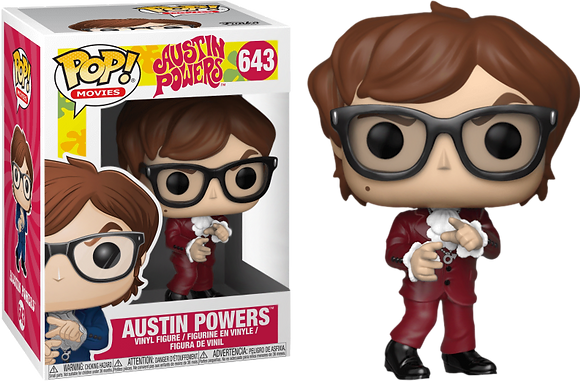 Pop Funko Austin Powers 643 Exclusive