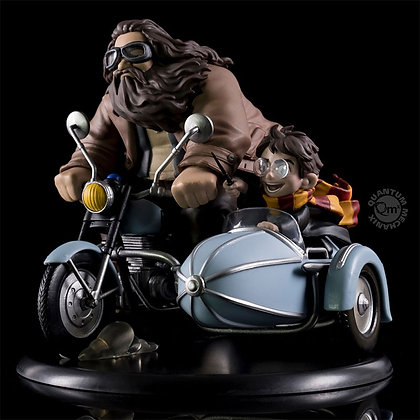 HARRY POTTER - Harry Potter et Rubeus Hagrid Q-FIG MAX