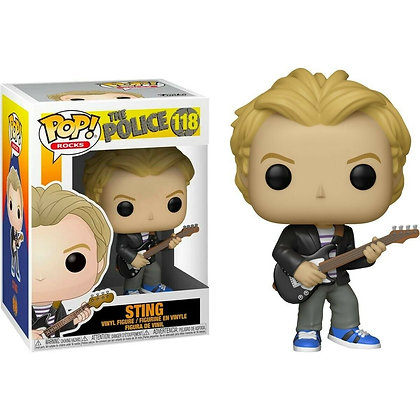 Funko Pop Rocks - The Police - Sting - N° 118