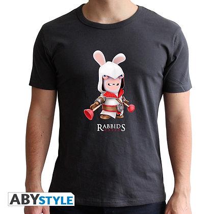 lapins-cretins-tshirt-spoof-assassin-homme-mc-dark-grey-new-fit