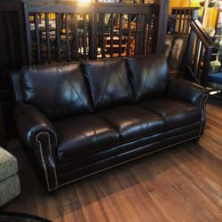 NEW 100% Italian Leather Sofa