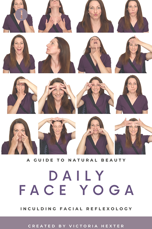 Daily Face Yoga Ebook with Supporting Video
