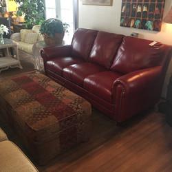 NEW Luke Leather Sofa