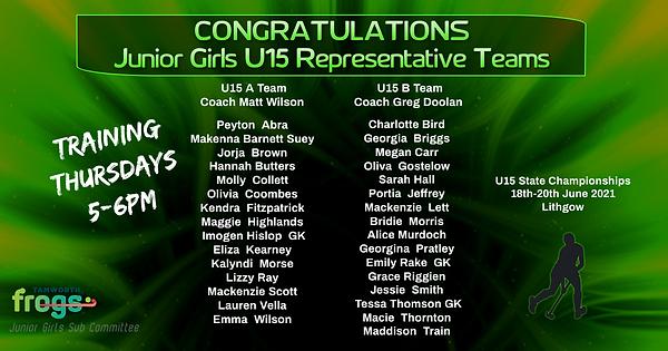 U15Girls Rep Teams Announcement.png