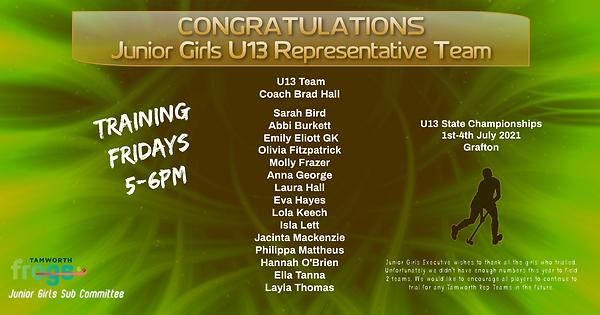 U13 Girls Rep Teams Announcement.png