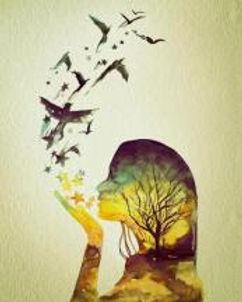 girl birds kiss