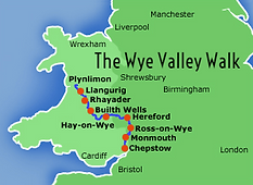 The Wye Valley Walk Map
