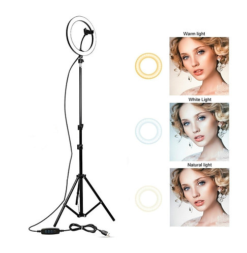 Ring Light  LED Dimmable 6.3''/10.2''