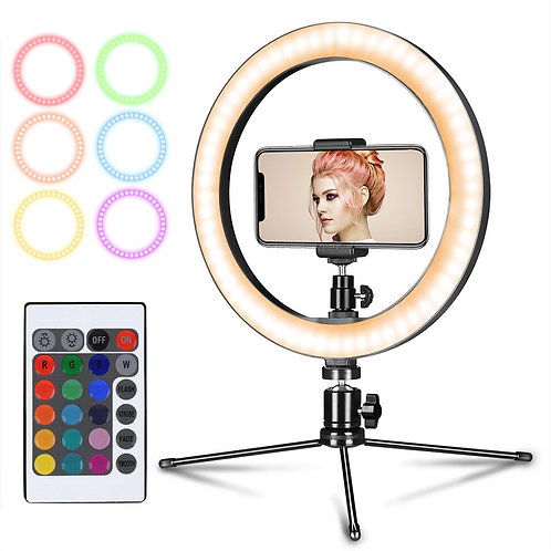 10inch RGB LED Ring Light