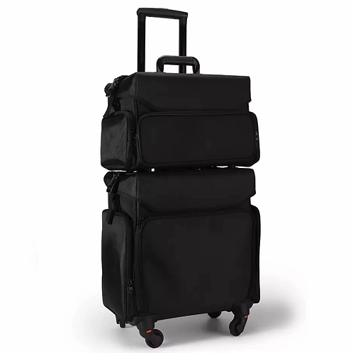 Trolley Cosmetic Case Rolling Luggage set