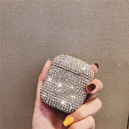 Bling Diamonds Wireless Bluetooth s Hard Case for Apple Airpods