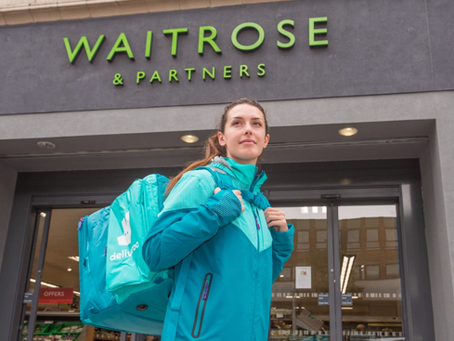 Waitrose expands trial with Deliveroo