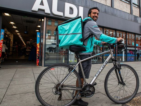 Deliveroo is looking for 15,000 new riders as demand surges