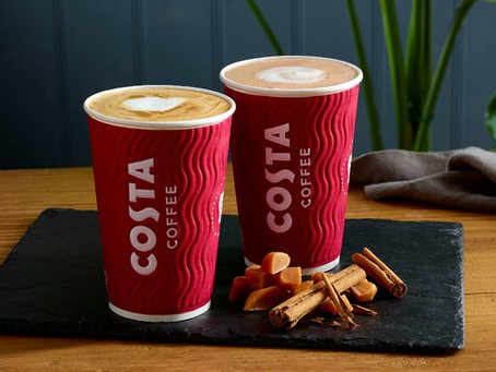 Costa Coffee expands coverage on Deliveroo