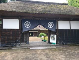 新潟県長岡市 国指定重要有形文化財「長谷川邸」と「ホタルまつり」