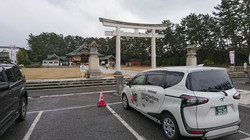 新潟県護国神社で