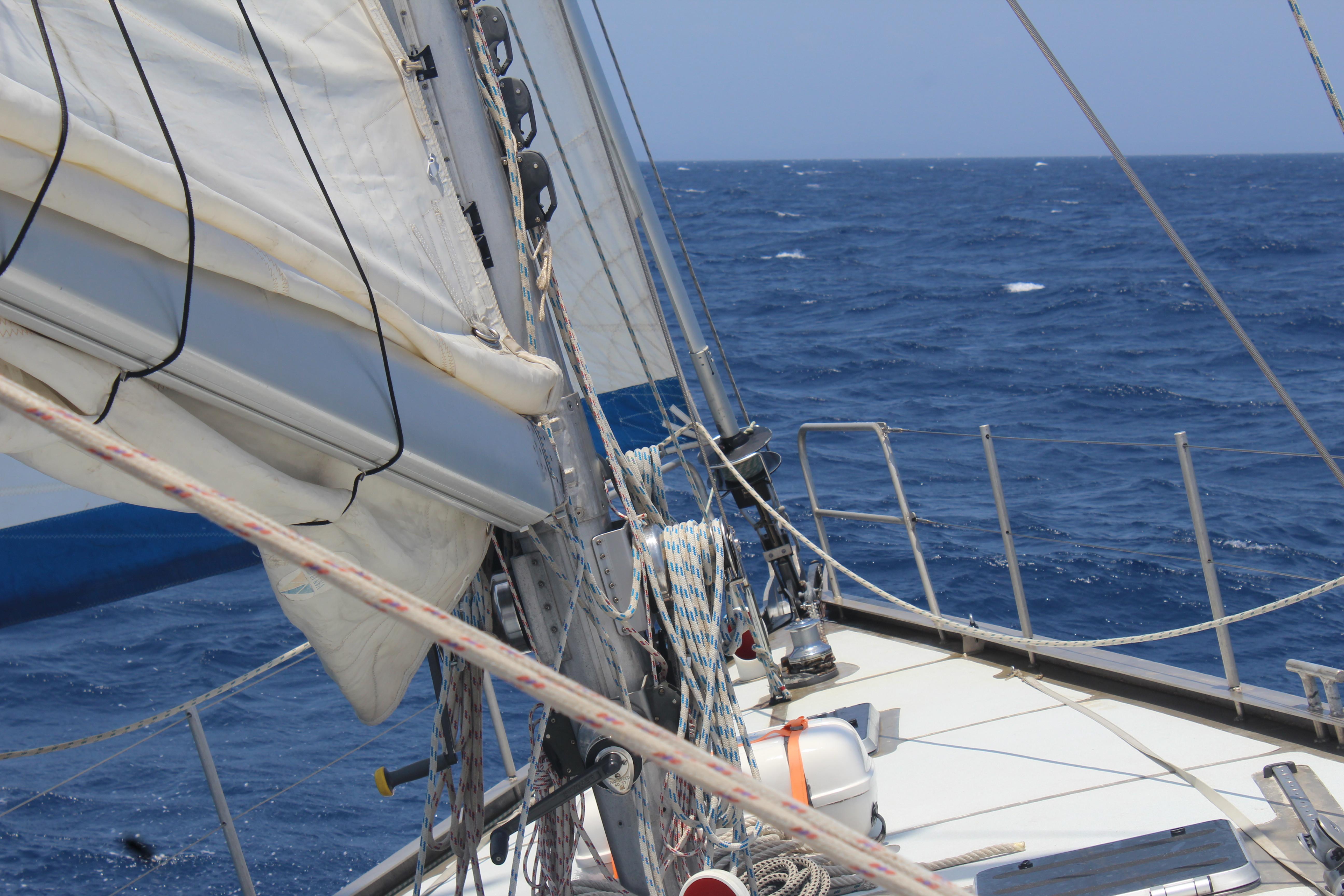 Zeilen op zee (minimaal 3 uur)